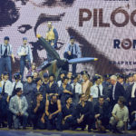 "Press conference of the musical ""The Pilots"""